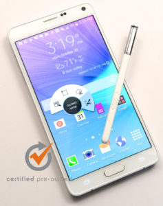 Samsung Note 4 Used Verizon Phone