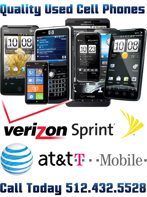 Used Cell Phones For Sale Austin, Fast Phone Replacement -