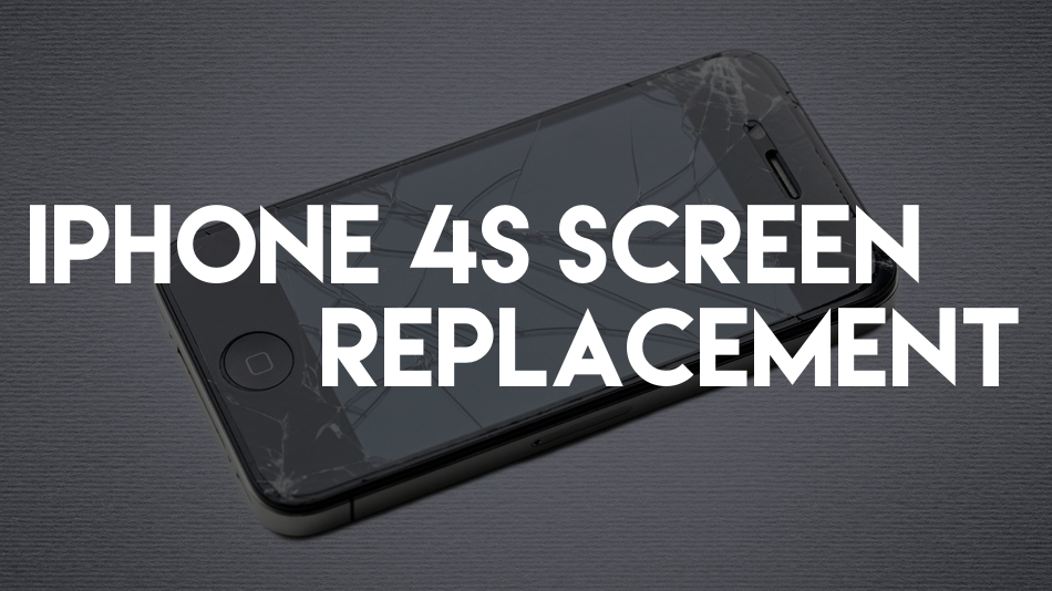 cracked iphone 4s screen replacement