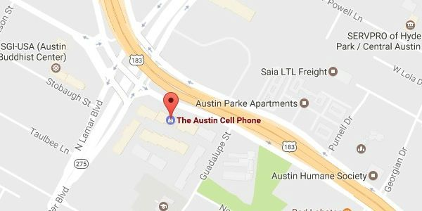 The Austin Cell Phone Map