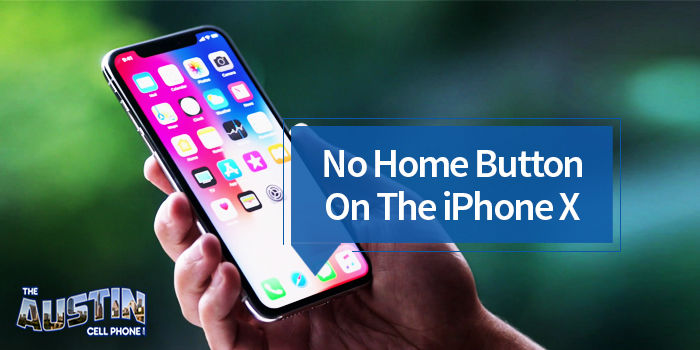 iPhone X Has No Home Button